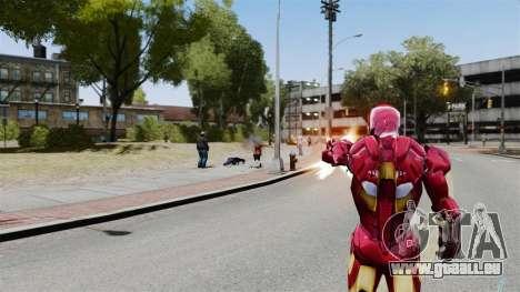 Iron Man IV v 2.0 pour GTA 4 quatrième écran