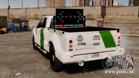Ford F-150 v3.3 Border Patrol [ELS & EPM] v1 für GTA 4 hinten links Ansicht
