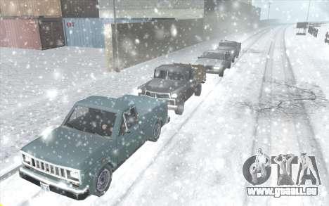 Snow San Andreas 2011 HQ - SA:MP 1.1 für GTA San Andreas dritten Screenshot