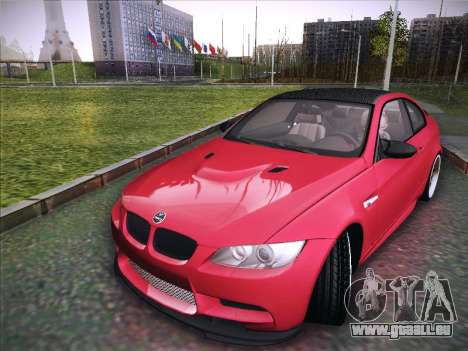 BMW M3 E92 Hamann 2012 für GTA San Andreas zurück linke Ansicht