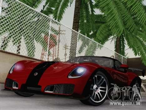 Devon GTX 2010 für GTA San Andreas Rückansicht