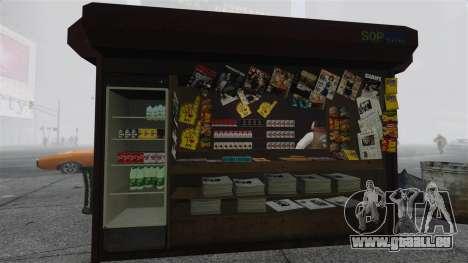 Die aktualisierten Kioske und heiße Dogovye Karr für GTA 4