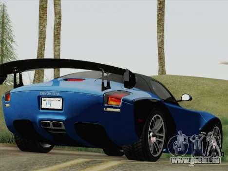 Devon GTX 2010 für GTA San Andreas linke Ansicht