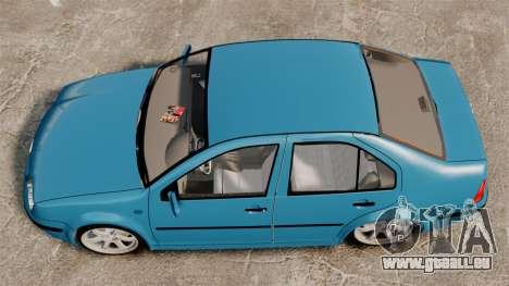 Volkswagen Bora pour GTA 4 est un droit