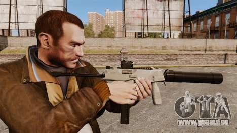 Tactique MP9 pistolet mitrailleur v3 pour GTA 4