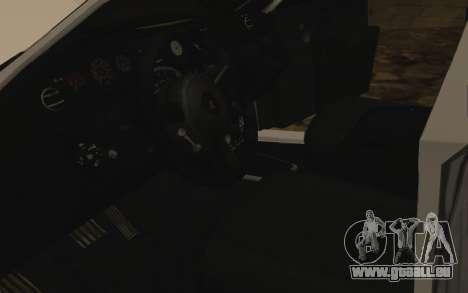Rolls-Royce Phantom v2.0 für GTA San Andreas Innen