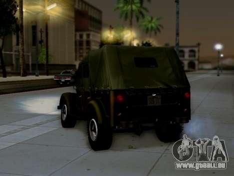 UAZ-69 A pour GTA San Andreas