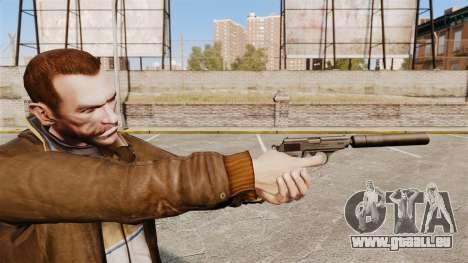 Chargement automatique v1 de pistolet Walther PP pour GTA 4