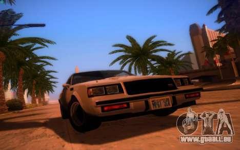 ENBS V3 pour GTA San Andreas quatrième écran