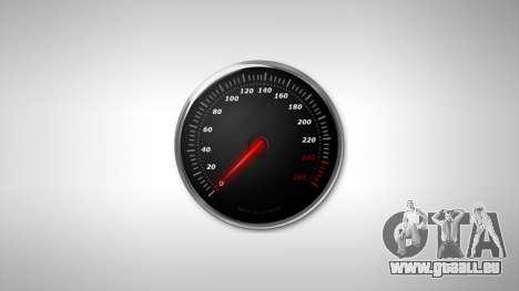 Compteur de vitesse AdamiX v6 pour GTA 4