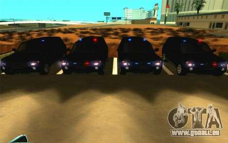 Mitsubishi Pajero pour GTA San Andreas vue de côté