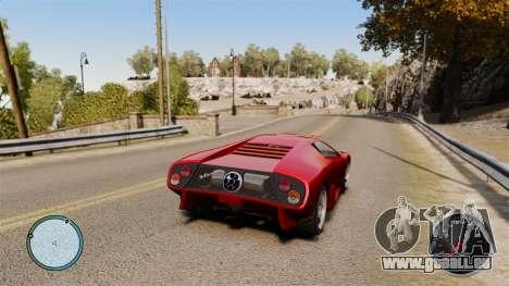 Compteur de vitesse AdamiX v6 pour GTA 4 secondes d'écran