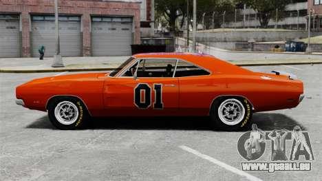 Dodge Charger 1969 General Lee v2 pour GTA 4 est une gauche