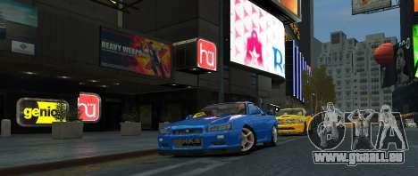 Nissan Skyline GTR-34 pour GTA 4