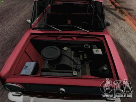 VAZ 2101 für GTA San Andreas Unteransicht