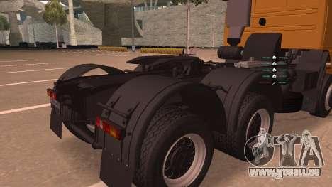 KAMAZ 260 Turbo für GTA San Andreas Innenansicht