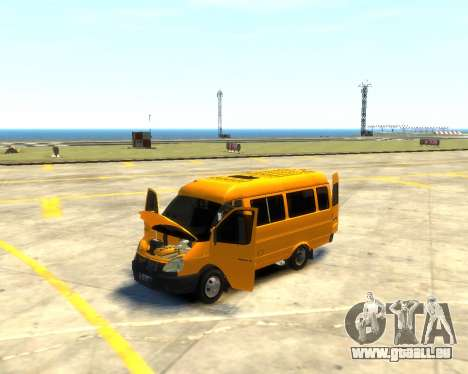 Gazelle 3221 für GTA 4 Innenansicht