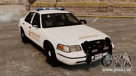 Ford Crown Victoria Police GTA V Textures ELS pour GTA 4
