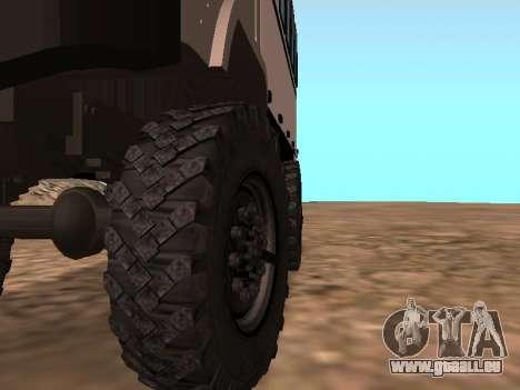 GAZ 66 ansehen für GTA San Andreas Seitenansicht