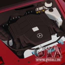 Mercedes-Benz G500 für GTA 4 Rückansicht