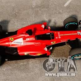Ferrari F138 2013 v1 pour GTA 4 est un droit