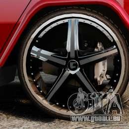 Mercedes-Benz G500 pour GTA 4 est un droit