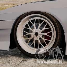 Nissan Silvia S14 pour GTA 4 Vue arrière