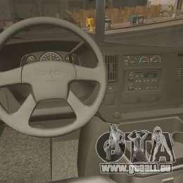 GMC Savana 2500 Show Event pour GTA 4 Vue arrière