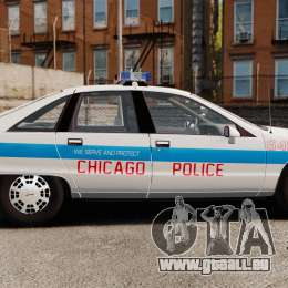 Chevrolet Caprice 1991 [ELS] v1 für GTA 4 linke Ansicht
