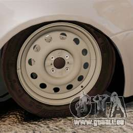 Vaz-2170 Priora pour GTA 4 Vue arrière