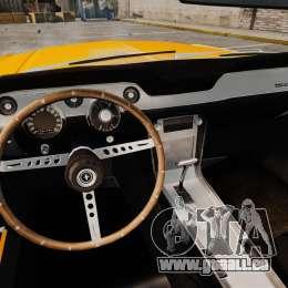 Ford Mustang 1967 Classic für GTA 4 Seitenansicht