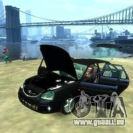 Lada Priora für GTA 4 rechte Ansicht