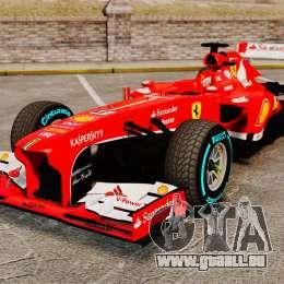 Ferrari F138 2013 v1 pour GTA 4