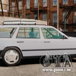 Mercedes-Benz W124 Wagon (S124) für GTA 4 linke Ansicht