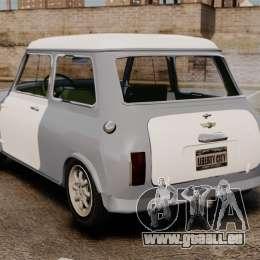 Mini Cooper S 1968 für GTA 4 hinten links Ansicht