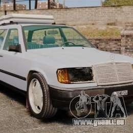 Mercedes-Benz W124 Wagon (S124) für GTA 4