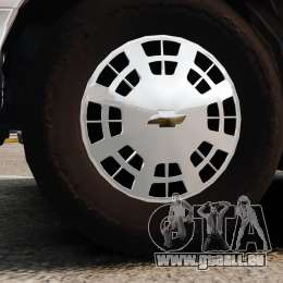 Chevrolet Caprice 1991 [ELS] v1 für GTA 4 Rückansicht