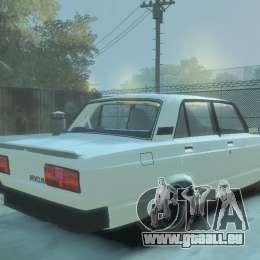VAZ 2105 pour GTA 4 est une gauche