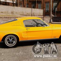 Ford Mustang 1967 Classic für GTA 4 linke Ansicht