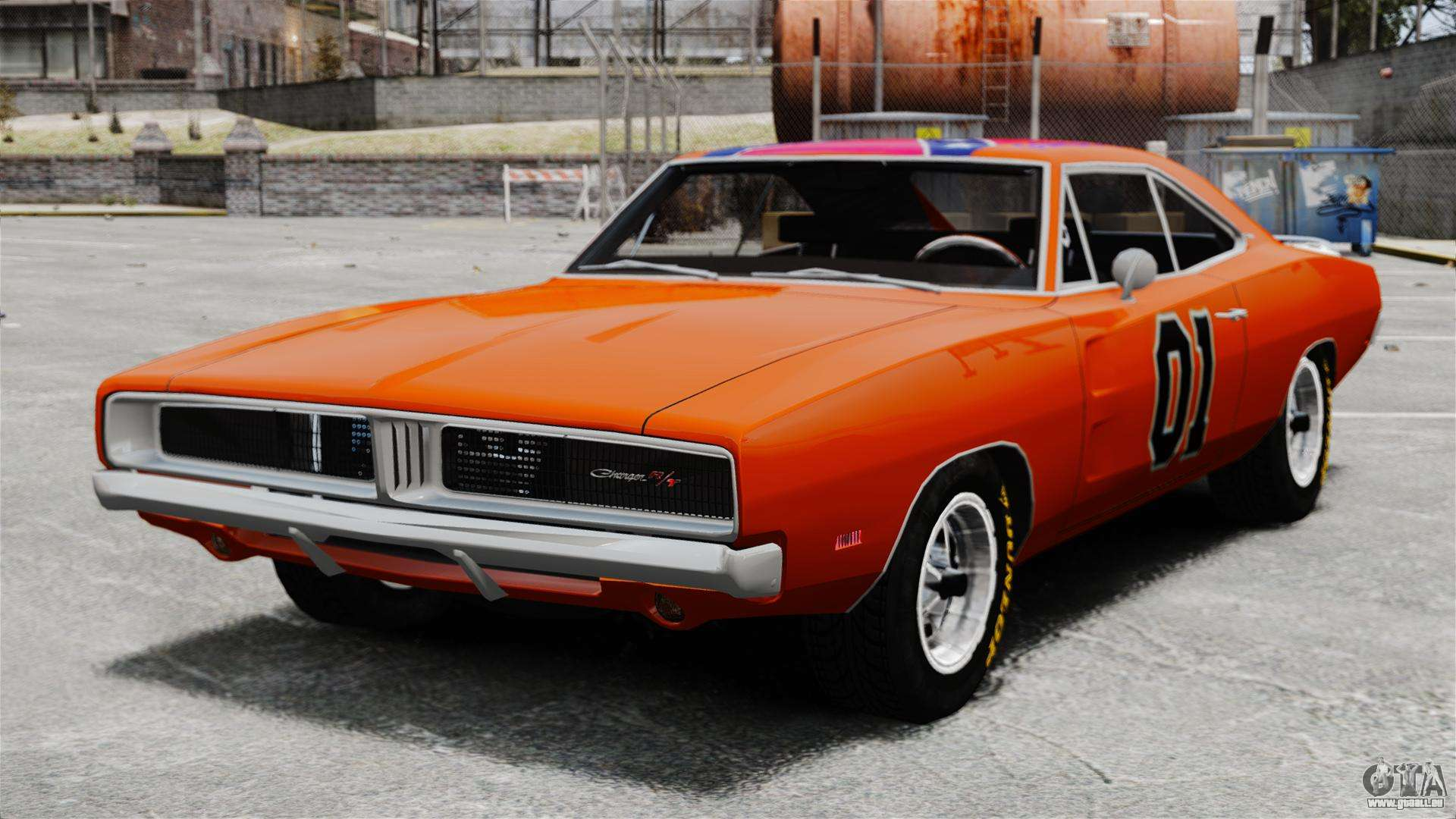 dodge charger 1969 general lee v2 pour gta 4. Black Bedroom Furniture Sets. Home Design Ideas
