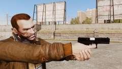 Chargement automatique v2 de pistolet Glock 17