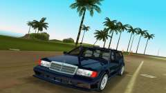Mercedes-Benz 190E 1990 für GTA Vice City