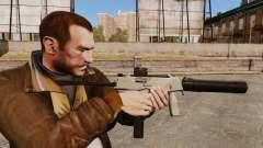 Tactique MP9 pistolet mitrailleur v3