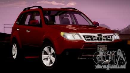 Subaru Forester XT 2008 v2.0 pour GTA San Andreas