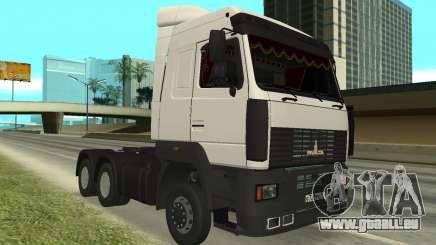 MAZ 5440 für GTA San Andreas