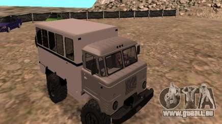 Regardez le GAZ 66 pour GTA San Andreas