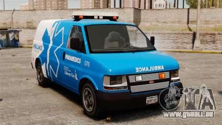 Ambulance LCEMS Speedo pour GTA 4
