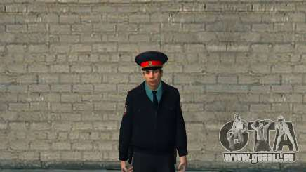 Le commandant de bord du ministère russe de l'intérieur pour GTA San Andreas