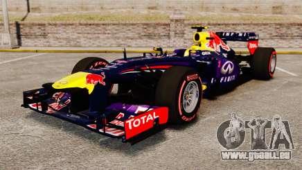RB9 v6 voiture, Red Bull pour GTA 4