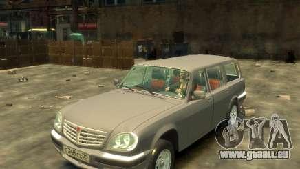 GAZ 330221 pour GTA 4